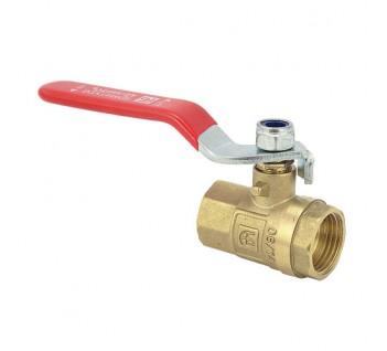 АБ Кран шаровый 25 1 ВВ вода ручка Эко
