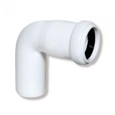 Колено канализационное ARMAKAN ПП 32/45° белое