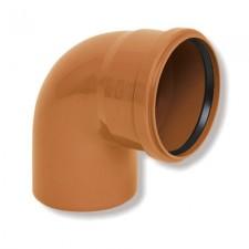 Колено канализационное наружное ARMAKAN ПП 110/45