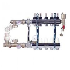 Комплект для подключения системы теплый пол FADO 5 выходов