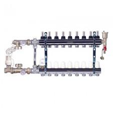 Комплект для подключения системы теплый пол FADO 9 выходов